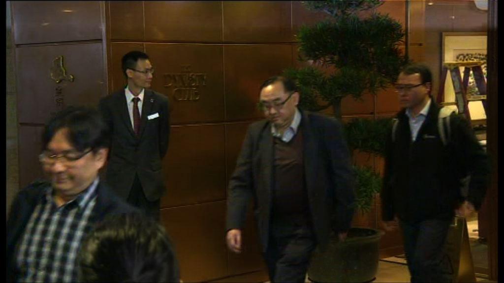 林鄭會見公務員團體 多個紀律部隊團體出席