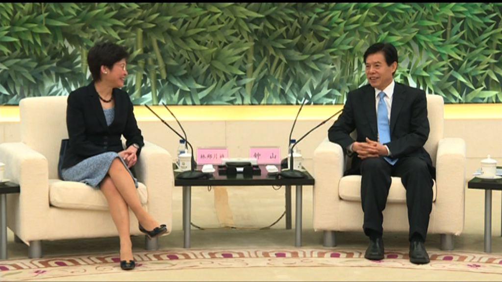 商務部:願進一步加強內地與香港經貿合作