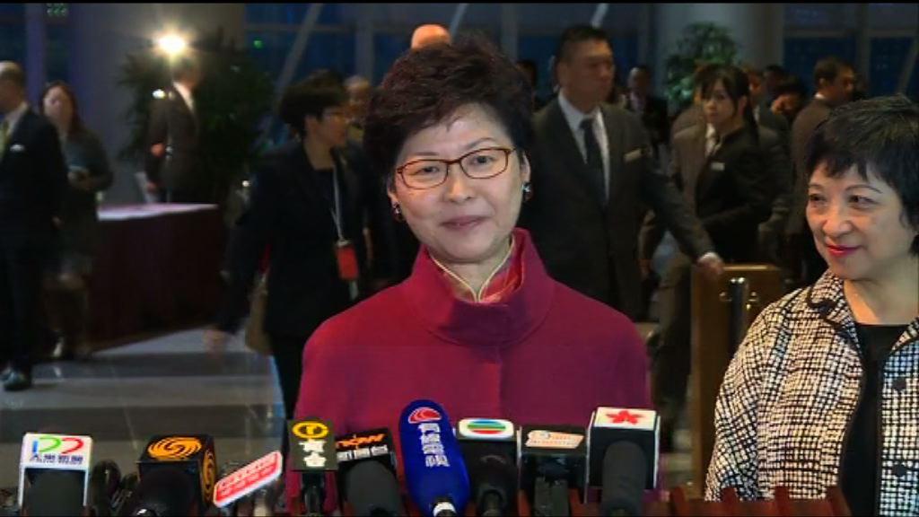 林鄭月娥:曾俊華參選讓選舉更明朗化