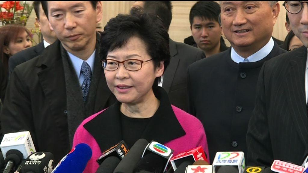 林鄭月娥獲579提名 仍未過半數