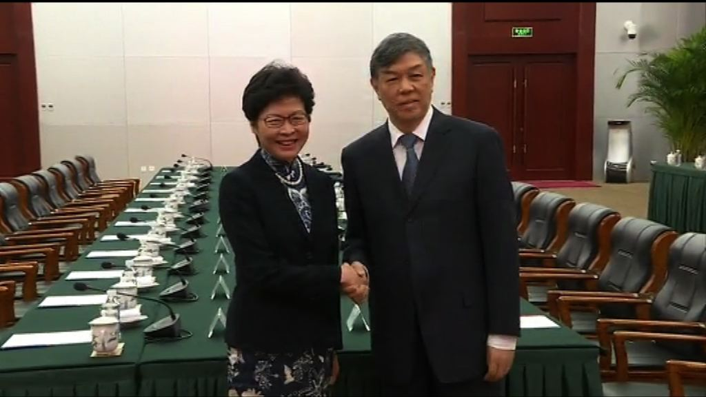 林鄭月娥:有信心一地兩檢獲市民支持