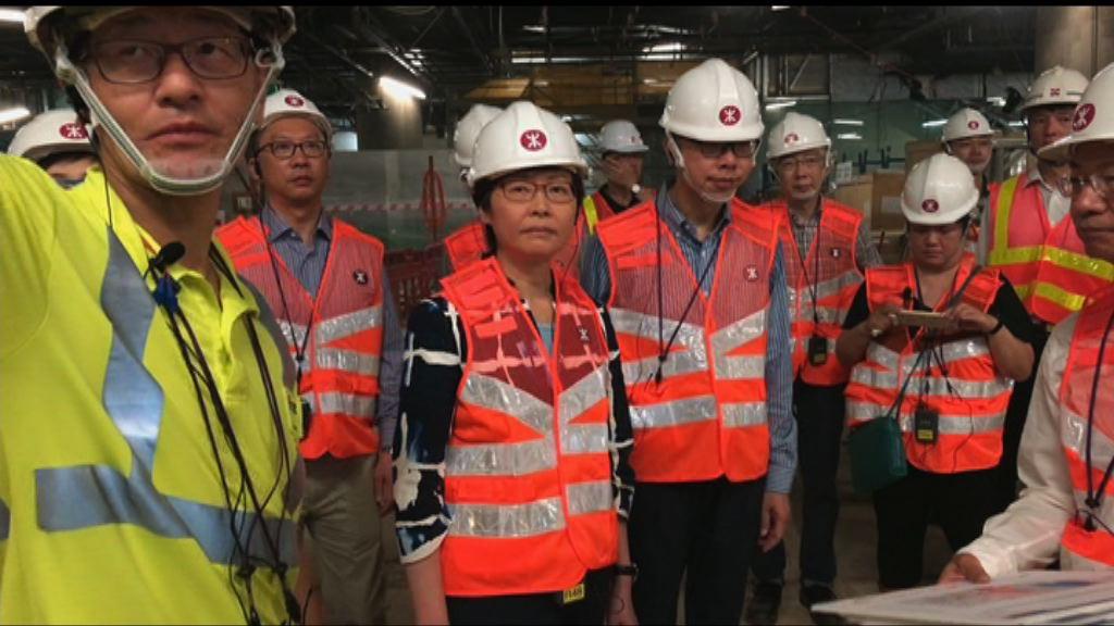 林鄭:相信高鐵可如期開通