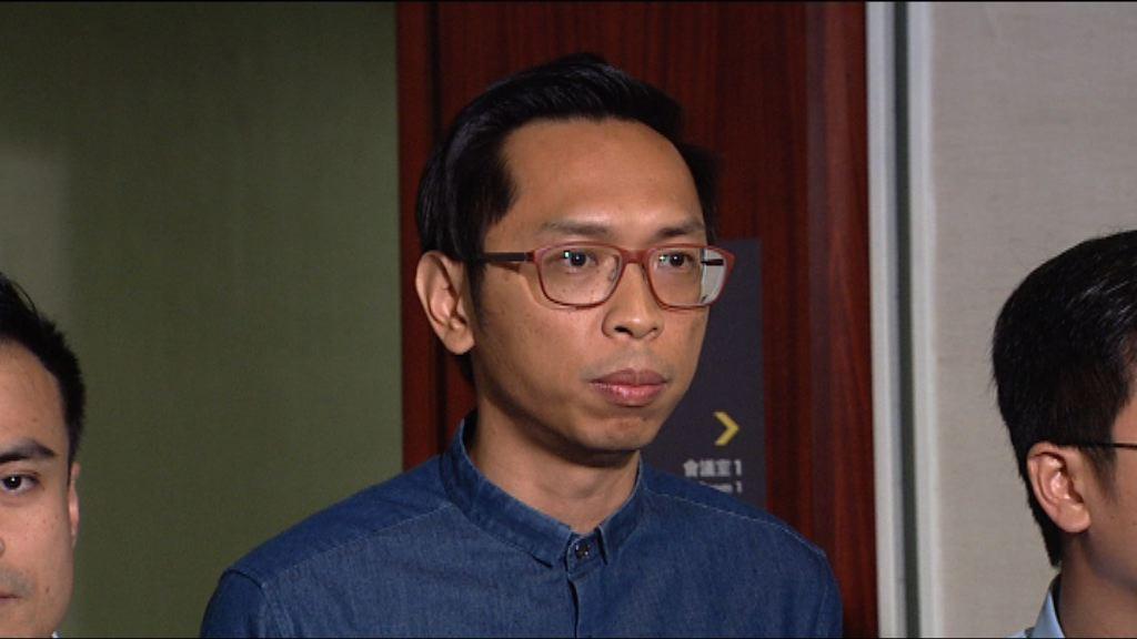 陸頌雄表示歡迎林鄭聽取勞資雙方意見