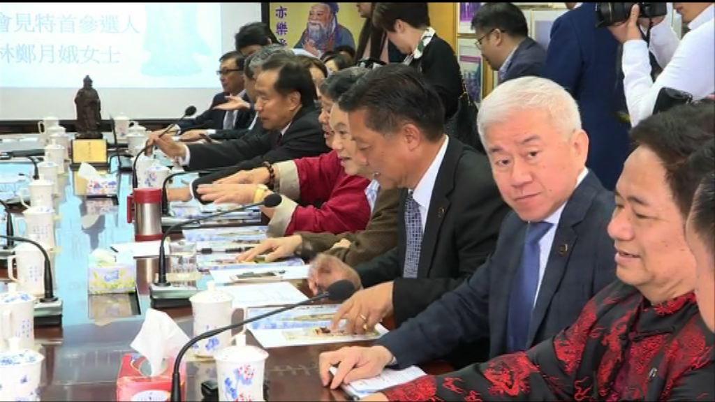 孔教選委全部提名林鄭參選