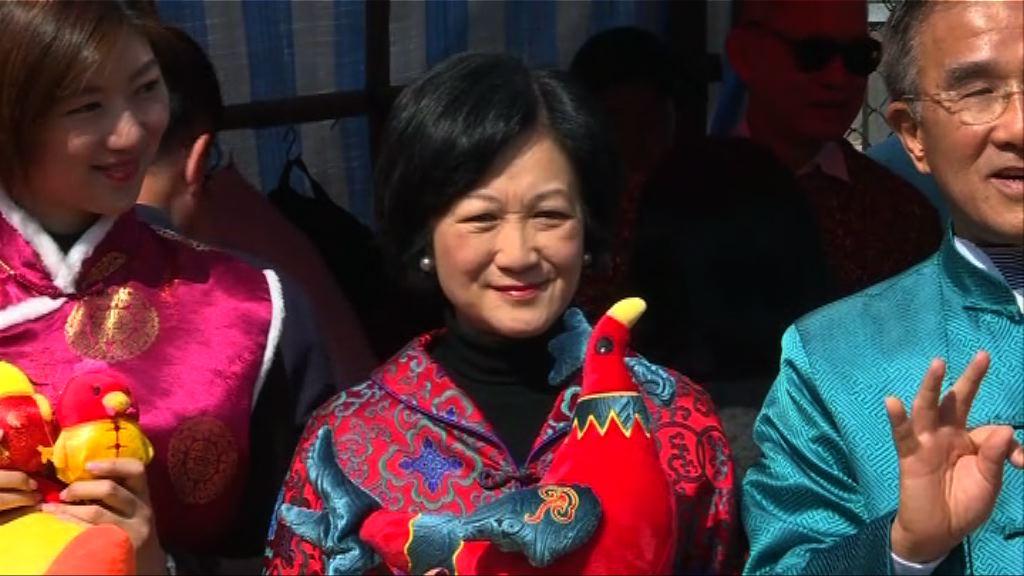 葉劉淑儀:無被林鄭中央不任命論打擊