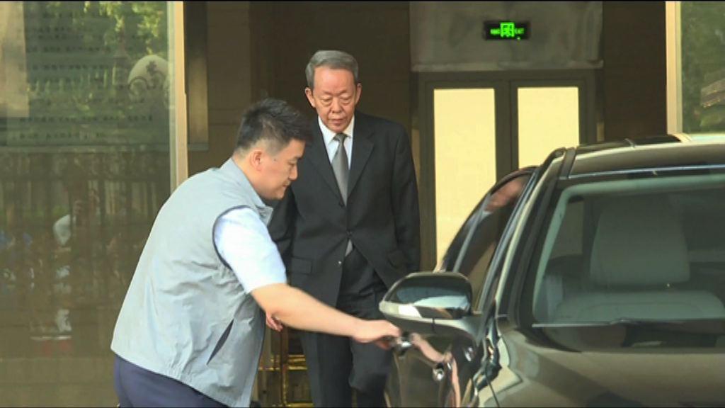 林鄭月娥晤王光亞談一地兩檢