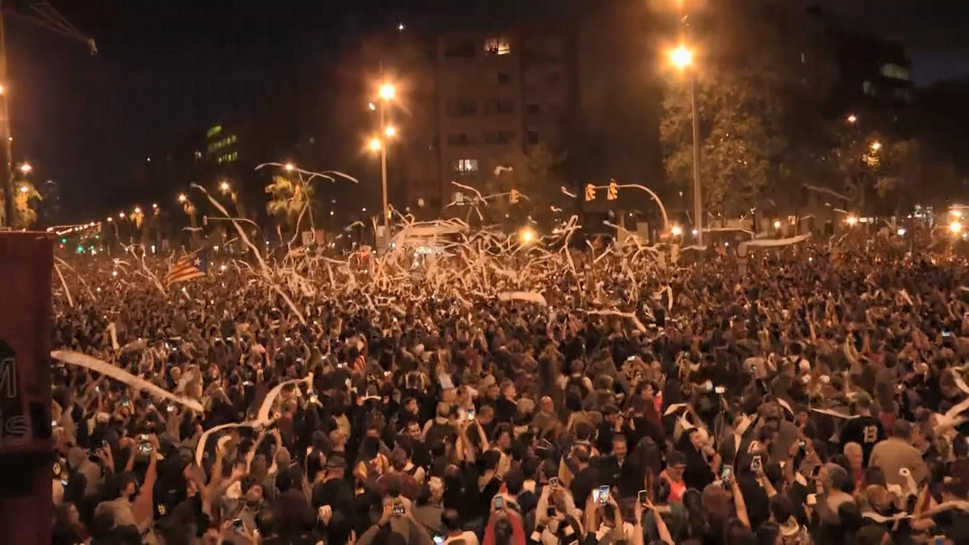 西班牙加泰羅尼亞示威持續