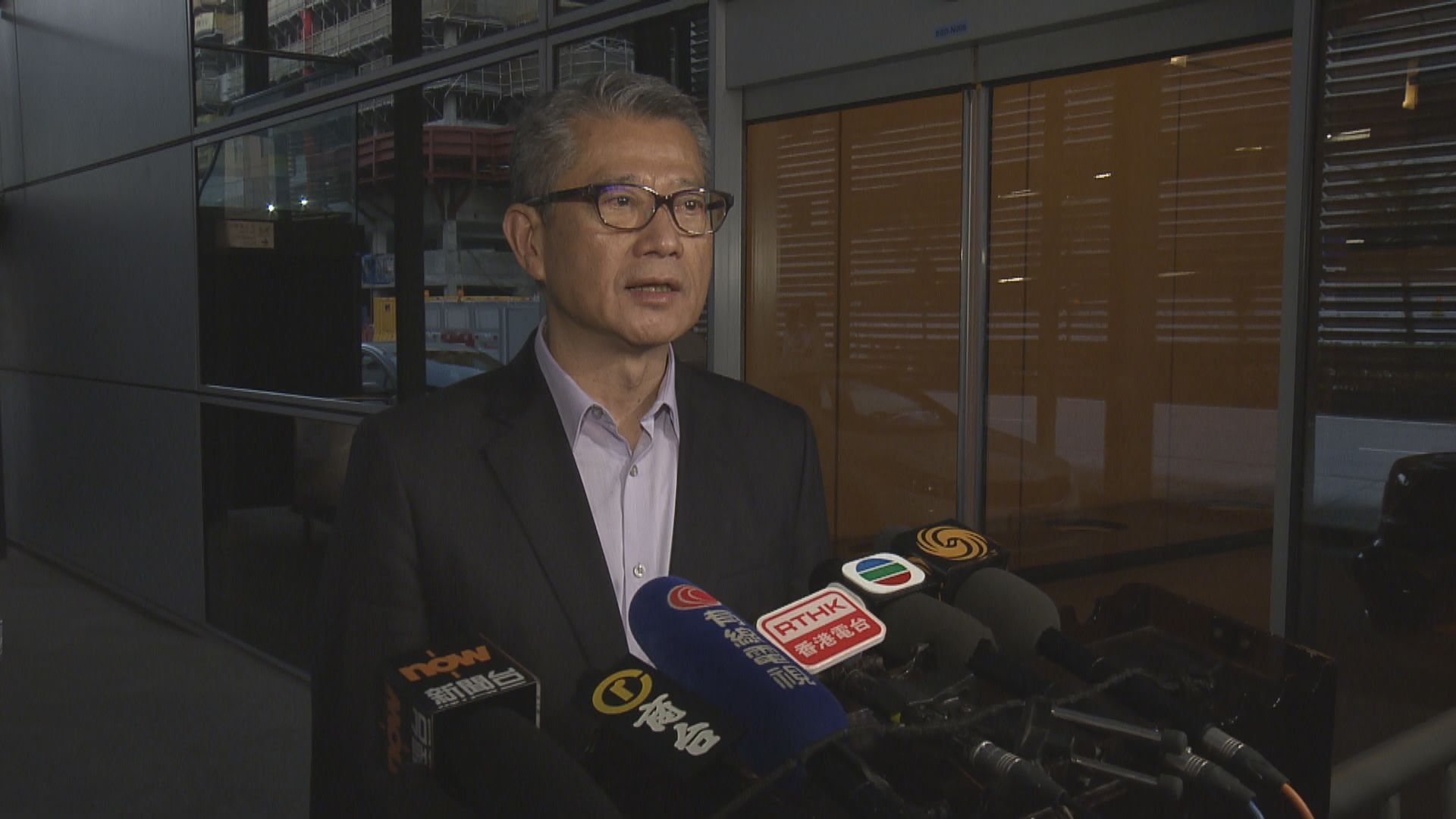 陳茂波:已提醒國泰重組須減低對員工及社會影響