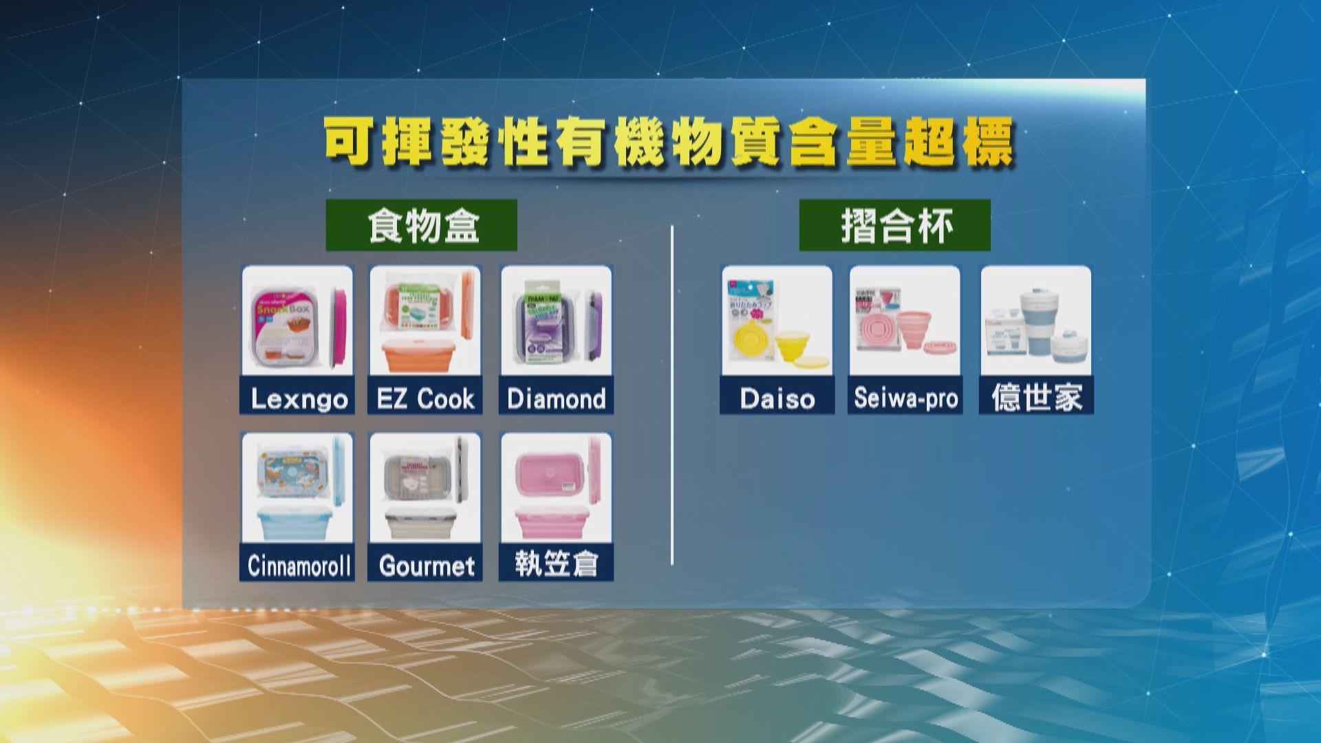 部分可摺合矽膠餐具可揮發性有機物質超標