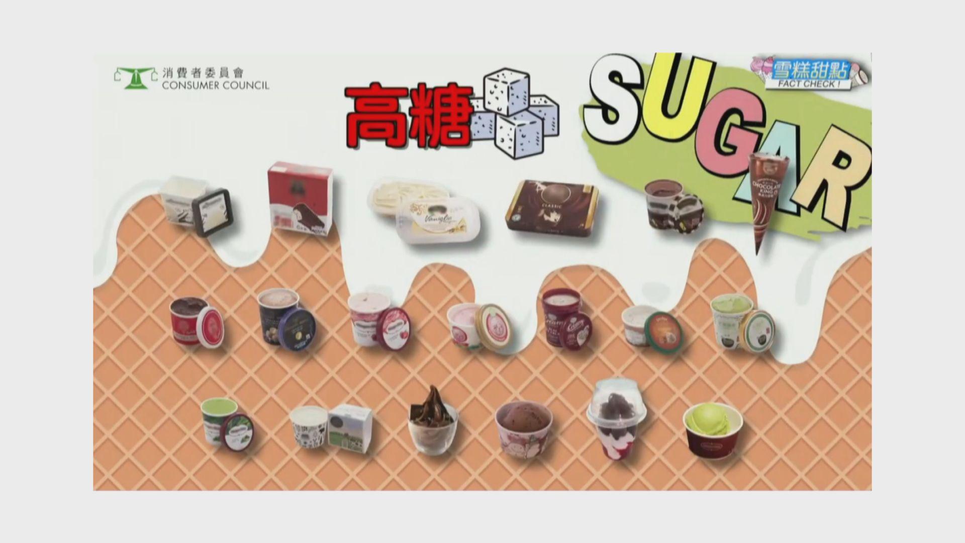 【消委會報告】六成半測試雪糕高糖 2款含菌超標