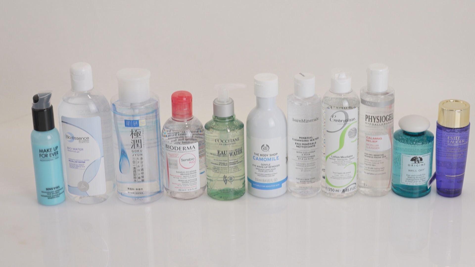 消委會:水性卸妝液九成產品卸妝表現令人失望