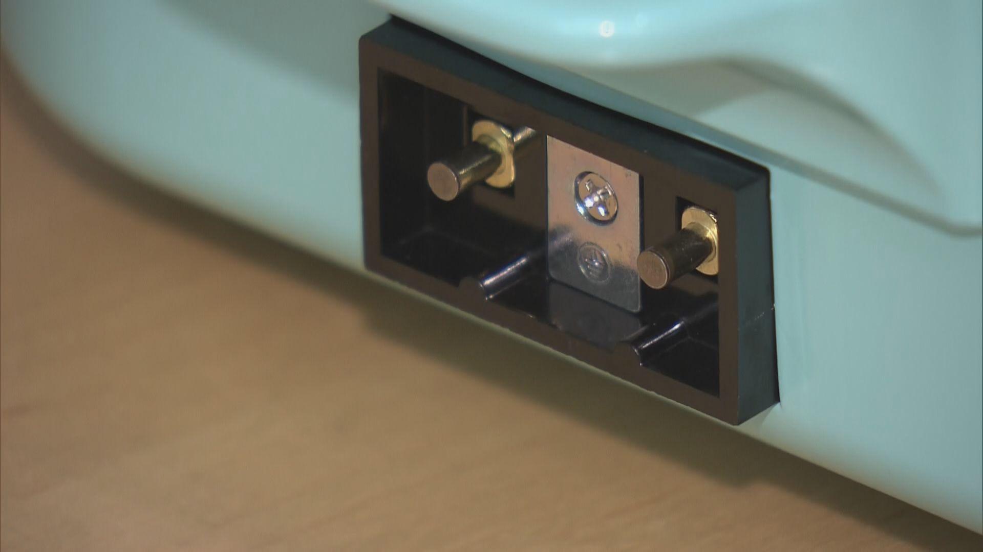 兩款電熱爐洩漏電流過高增觸電風險