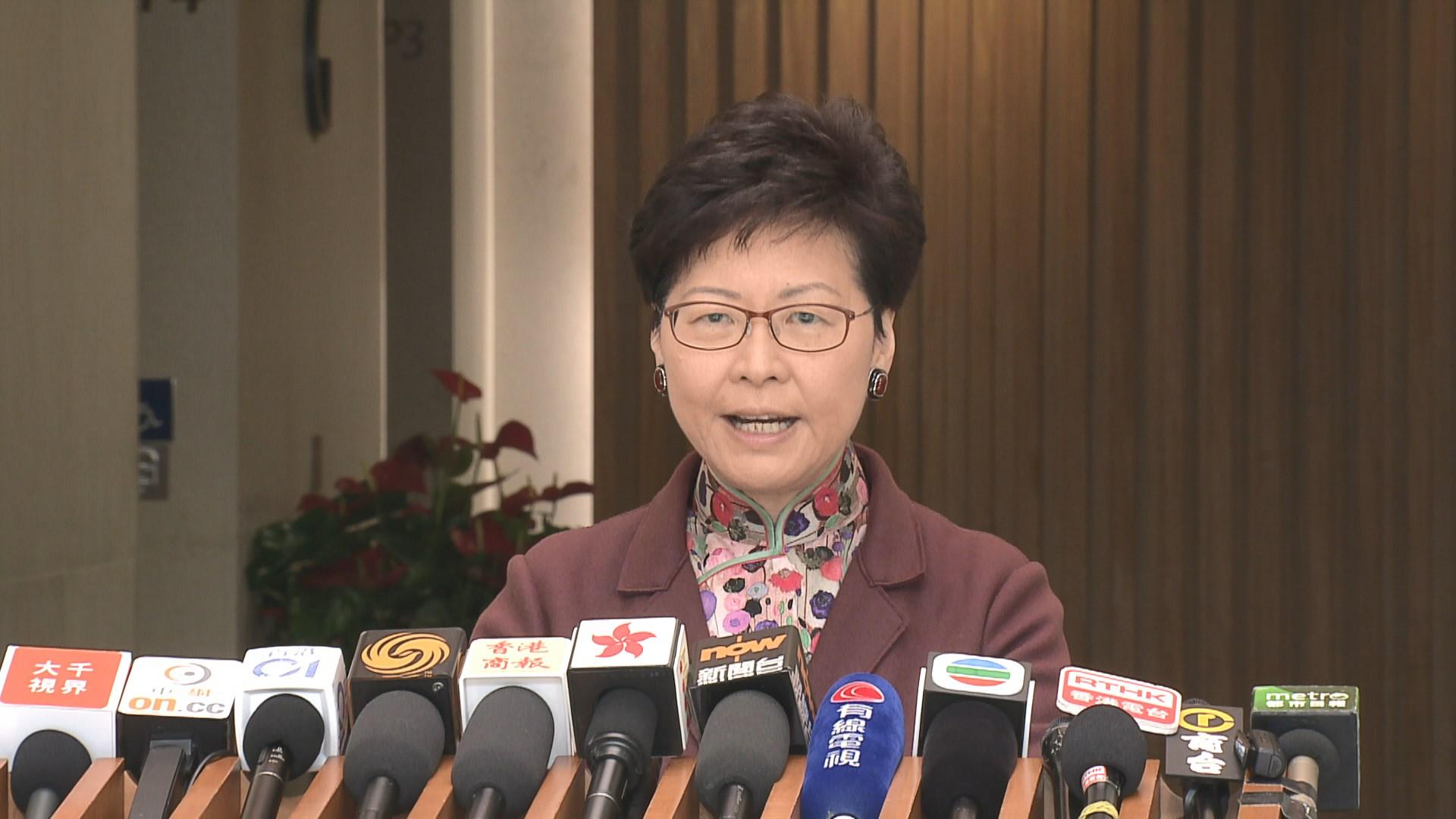 林鄭拒評劉鑾雄就修訂逃犯條例入稟