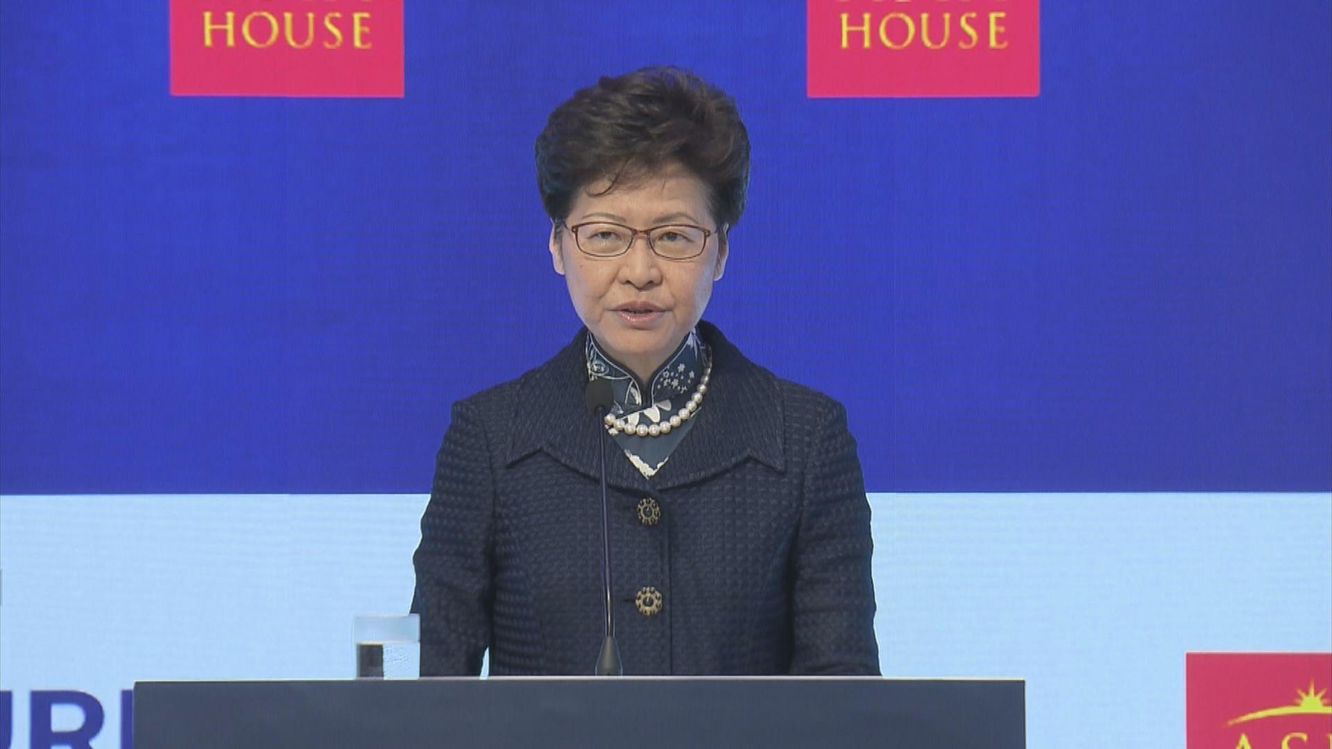 林鄭周二上海轉赴北京 周三早獲韓正接見