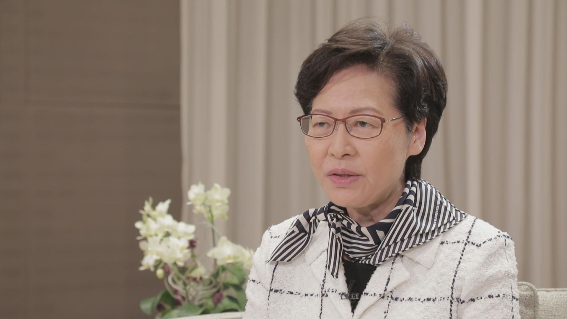 林鄭月娥:未來一年會積極落實大灣區建設