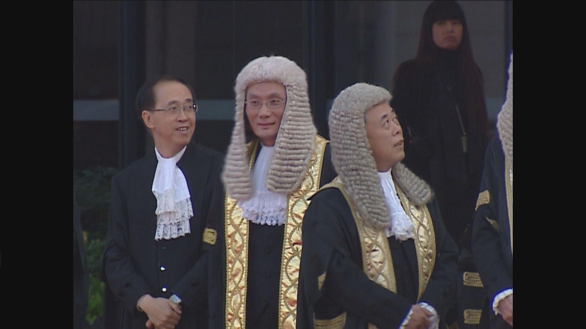 張舉能獲委任終審法院首席法官 明年一月接替馬道立