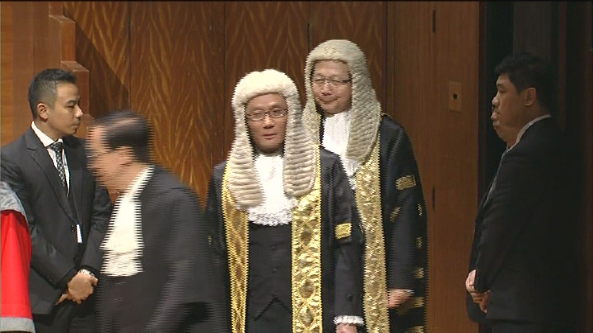 張舉能獲委任終院首席法官 曾採納人大釋法判梁游宣誓無效