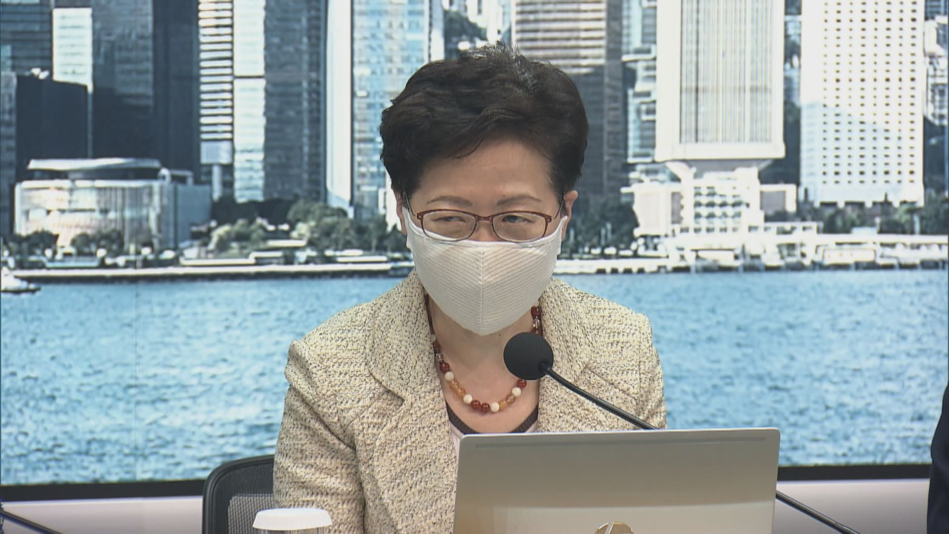 林鄭:健康碼為方便出行 用作讓巿民進出食肆等不切實際