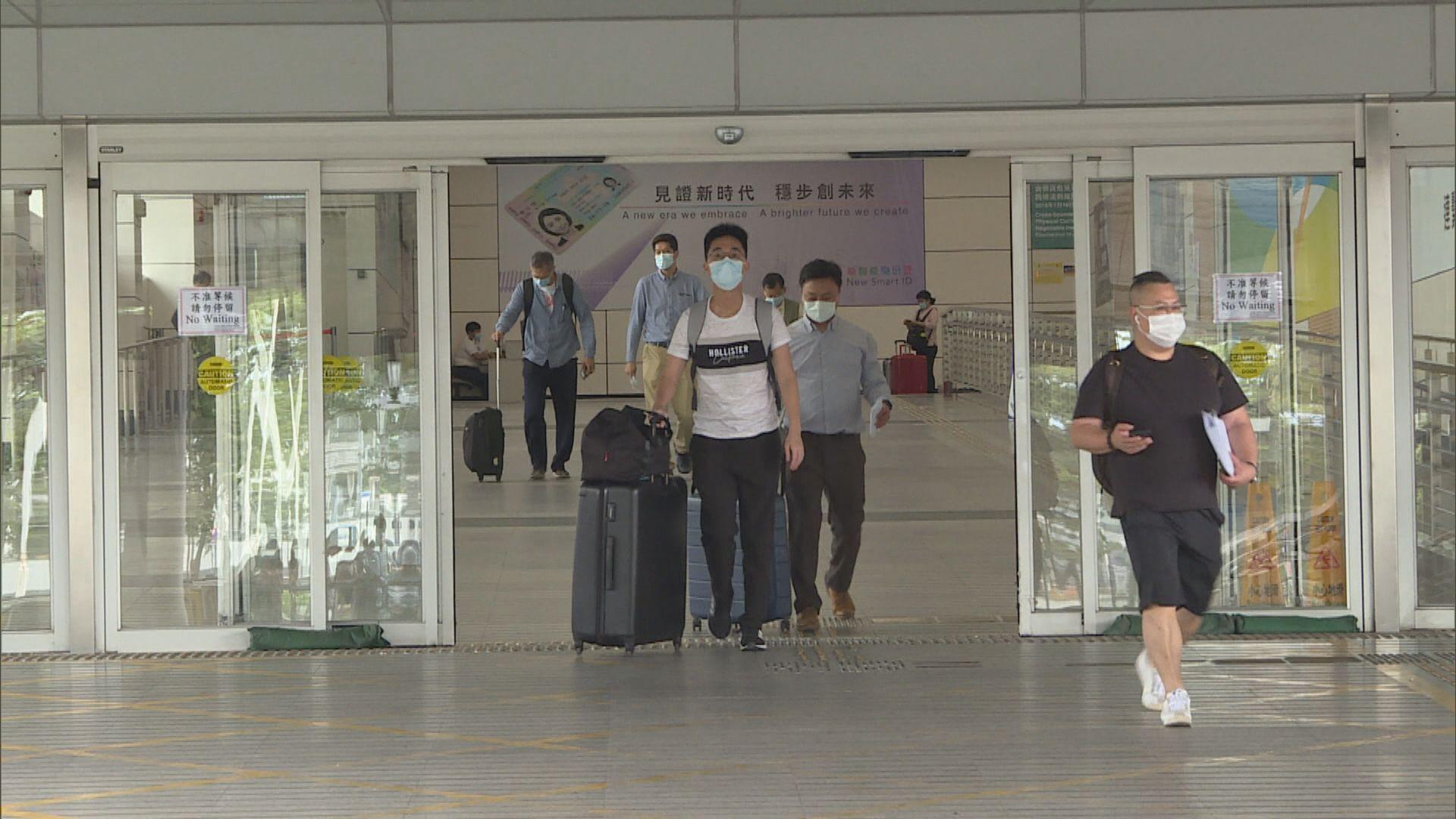 「來港易」下周三實施 每日名額二千內地或澳門來港免檢疫