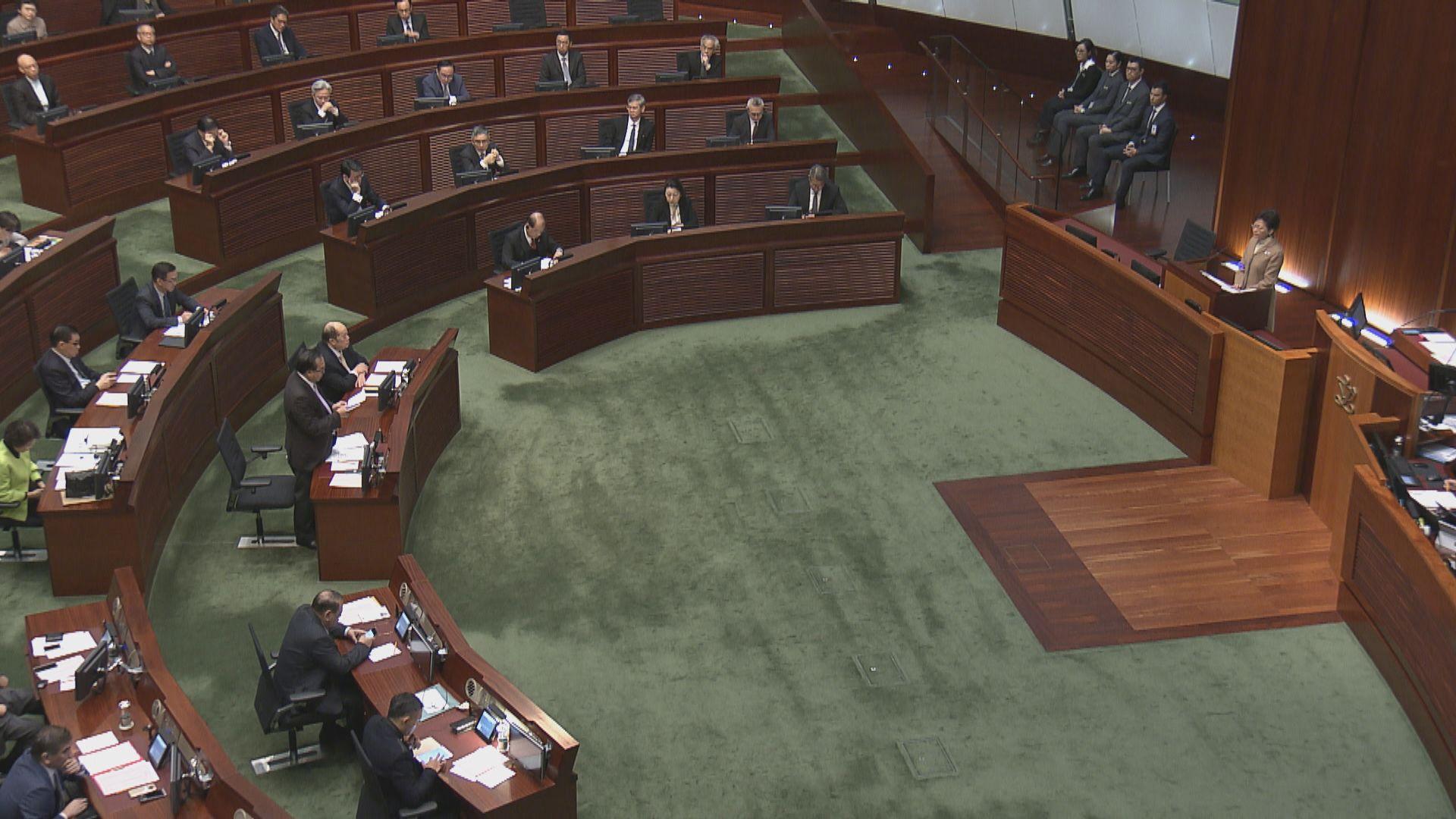 林鄭:議員有份批准收緊長者綜援申領年齡