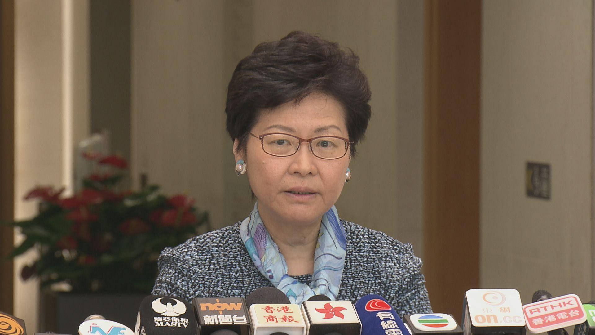 林鄭:高鐵香港段營運協議商討接近尾聲