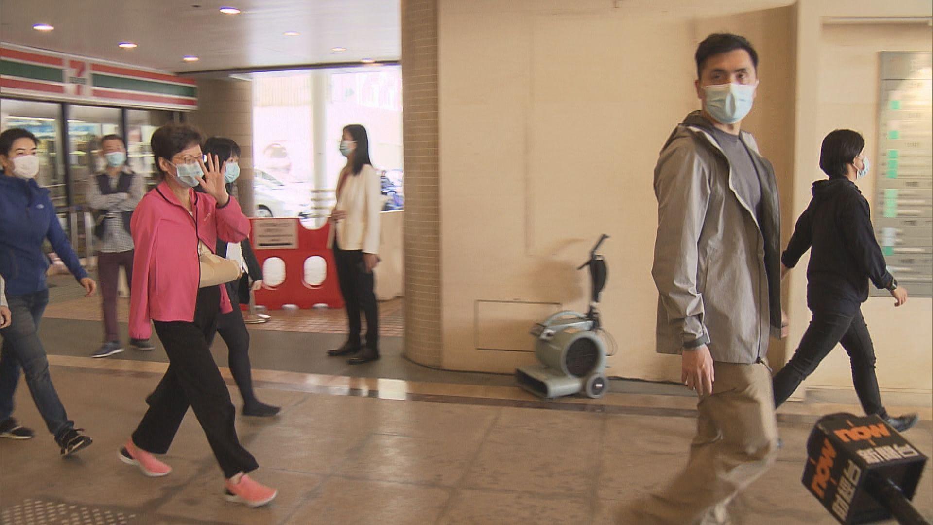 林鄭月娥在禮賓府跌倒右手手肘骨折 留醫一晚後出院