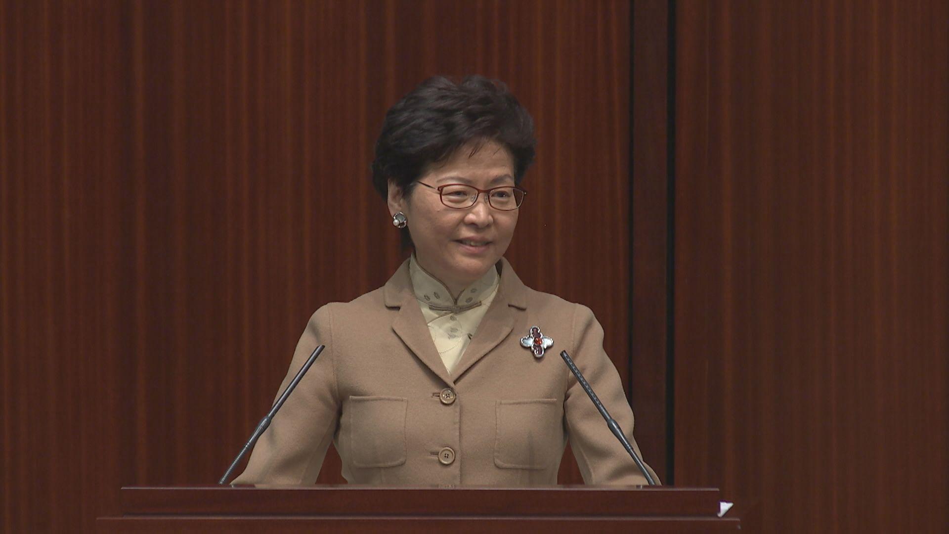 林鄭月娥明日赴廣州商大灣區合作