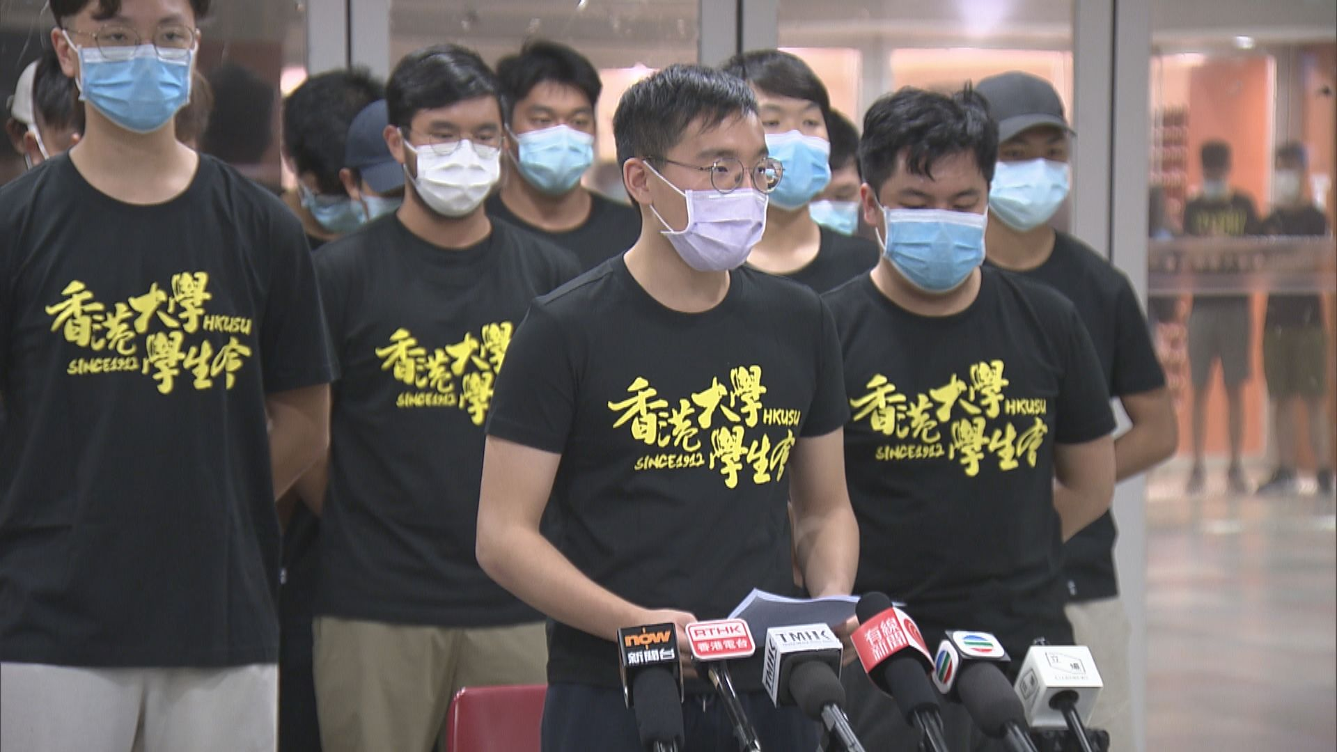 林鄭:港大學生評議會悼七一襲警疑犯令人髮指 校方應繼續跟進