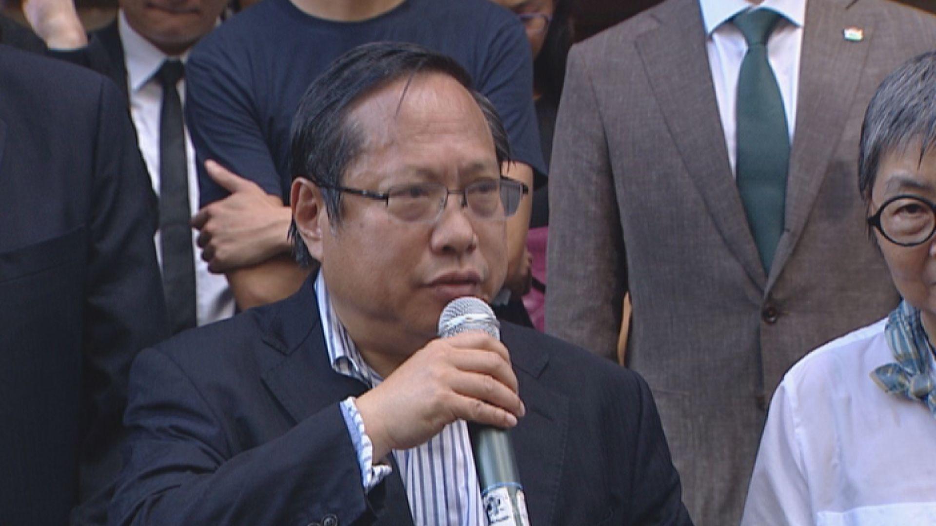 何俊仁:內地法制急劇惡化令社會對移交逃犯安排欠信心