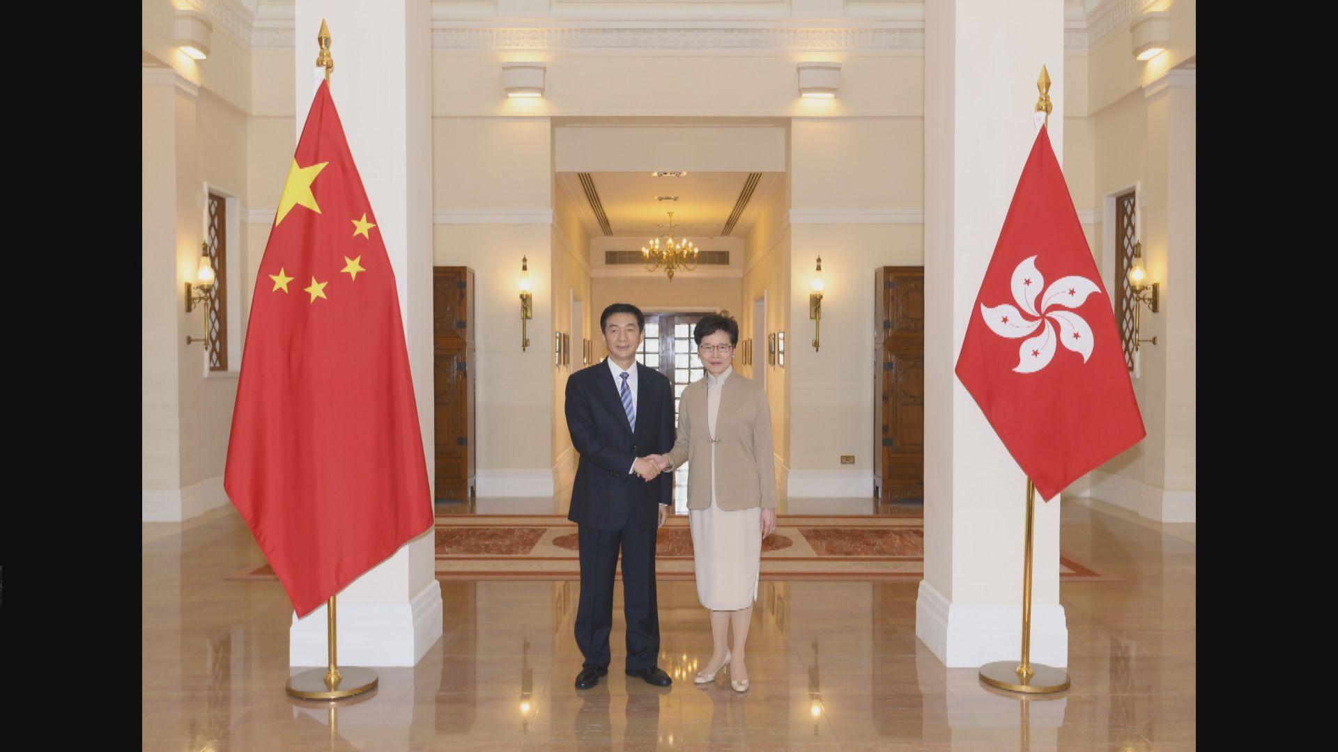 中聯辦:全力支持行政長官及特區政府依法施政