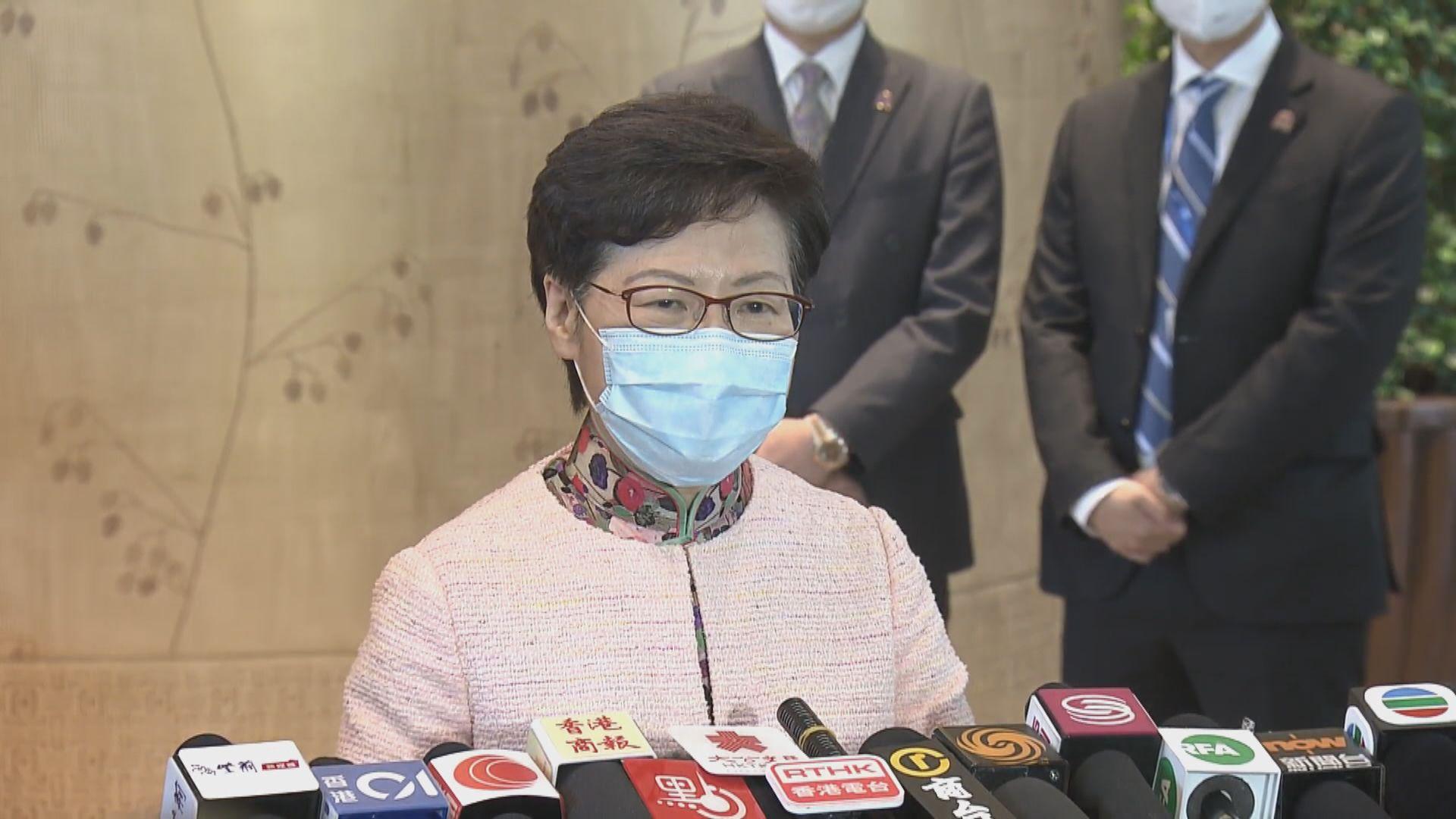 林鄭月娥︰夏寶龍稱港區國安法有立竿見影效果