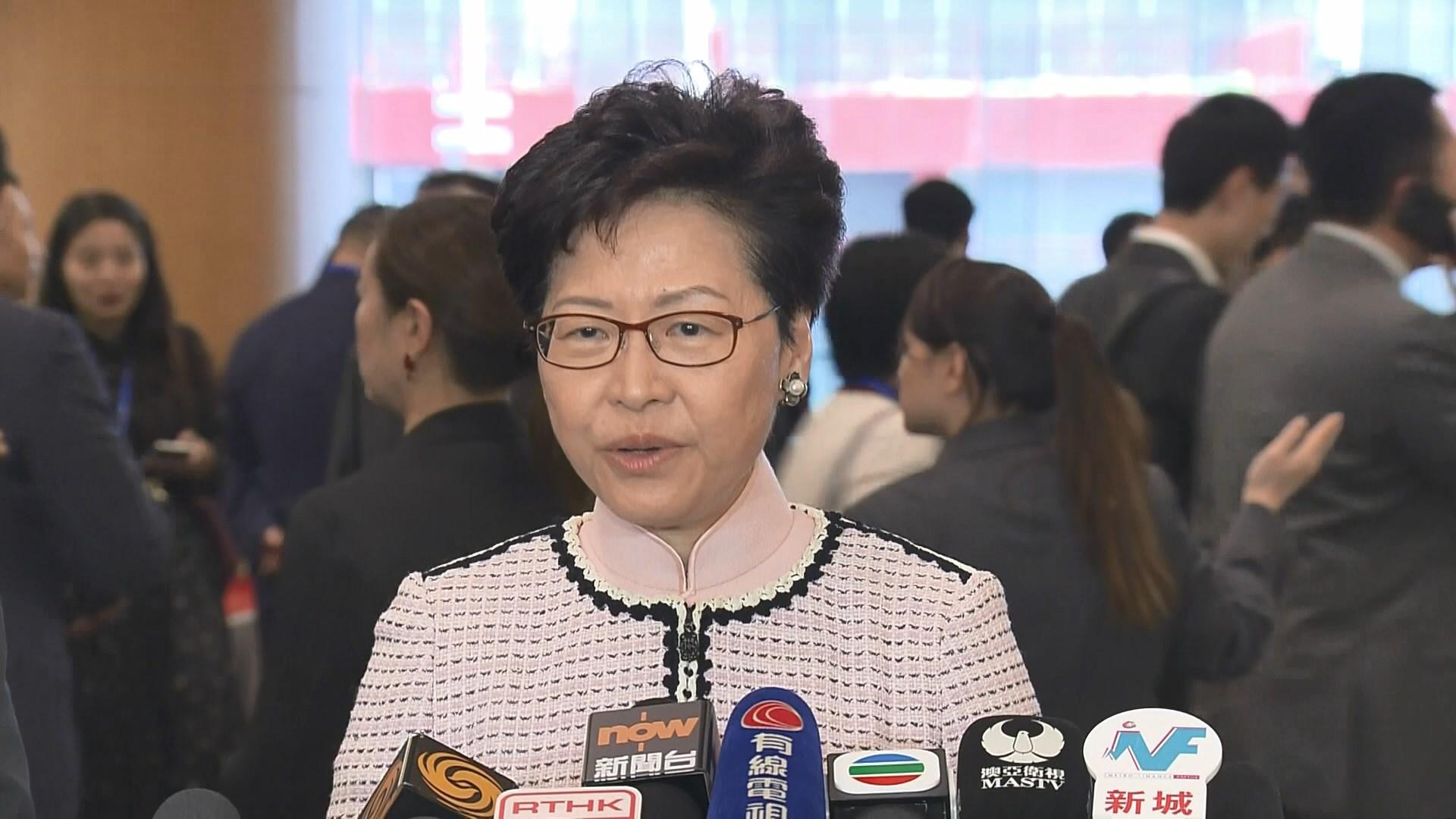 林鄭月娥沒回應任內會否重啟政改