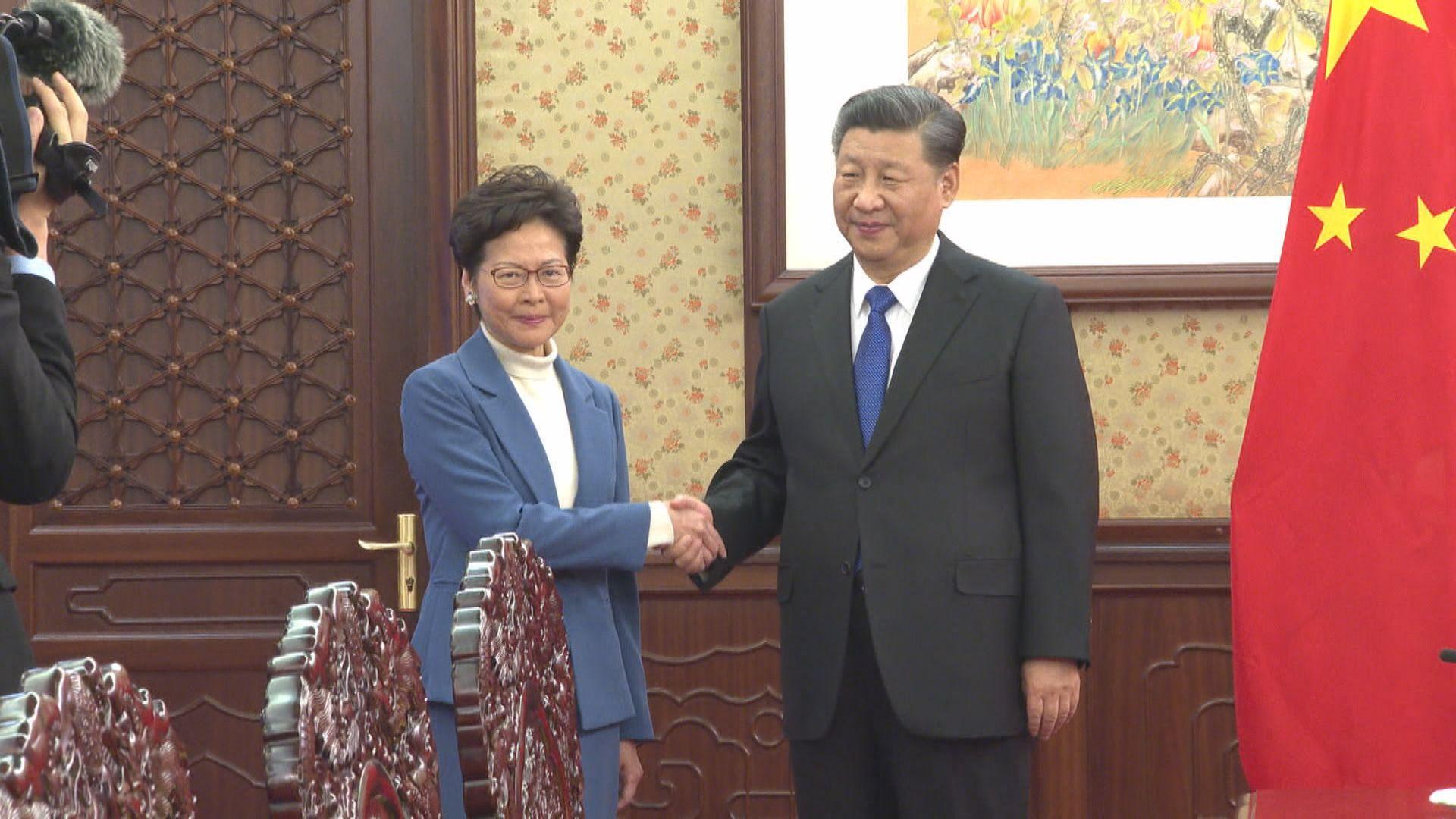 林鄭:施政報告為香港內部事務 惟製作過程需與中央磋商