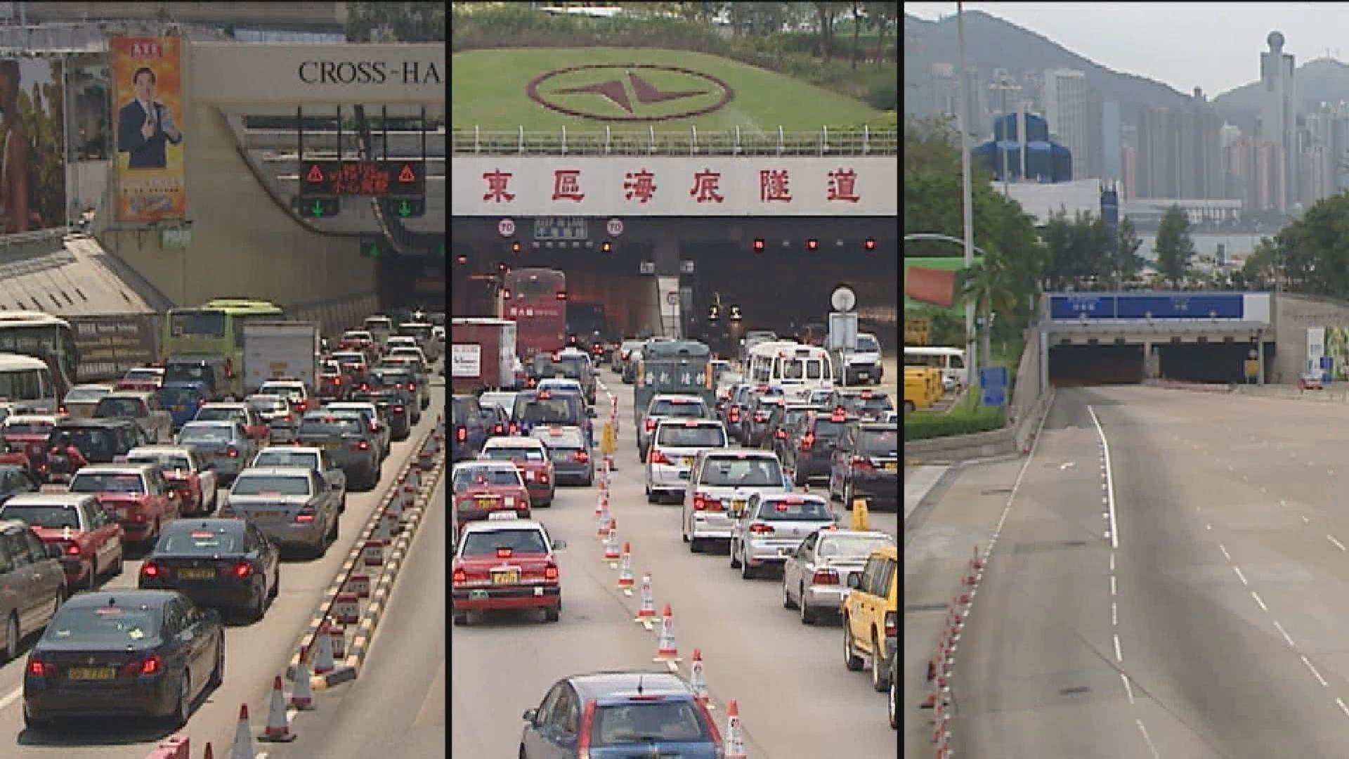 林鄭:立法會或不通過三隧分流方案