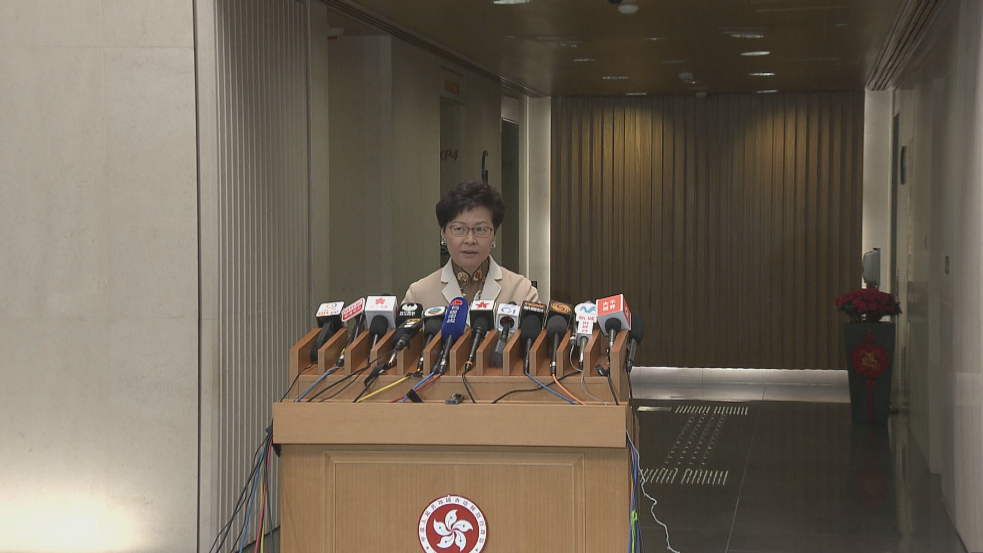 林鄭:大灣區發展不影響一國兩制