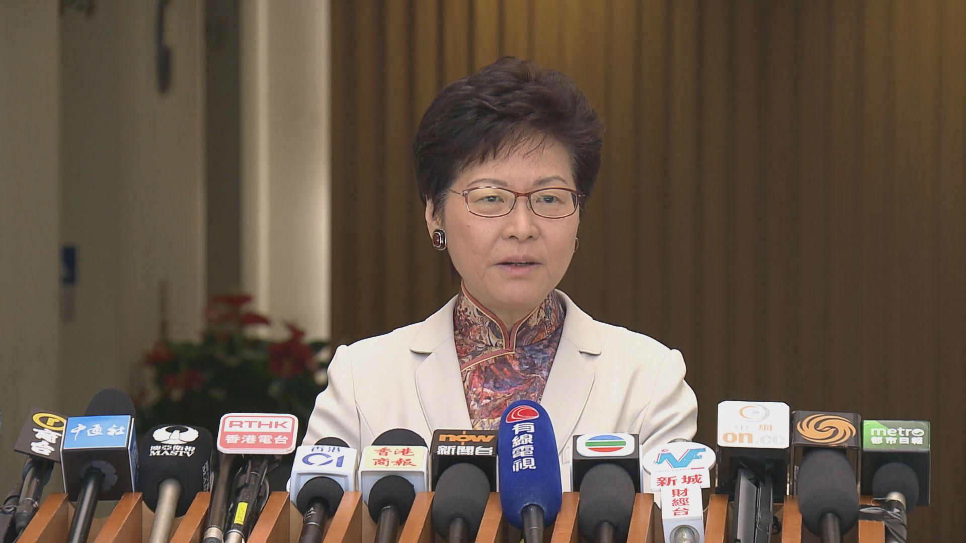 林鄭:高鐵售票過程仍有改善空間