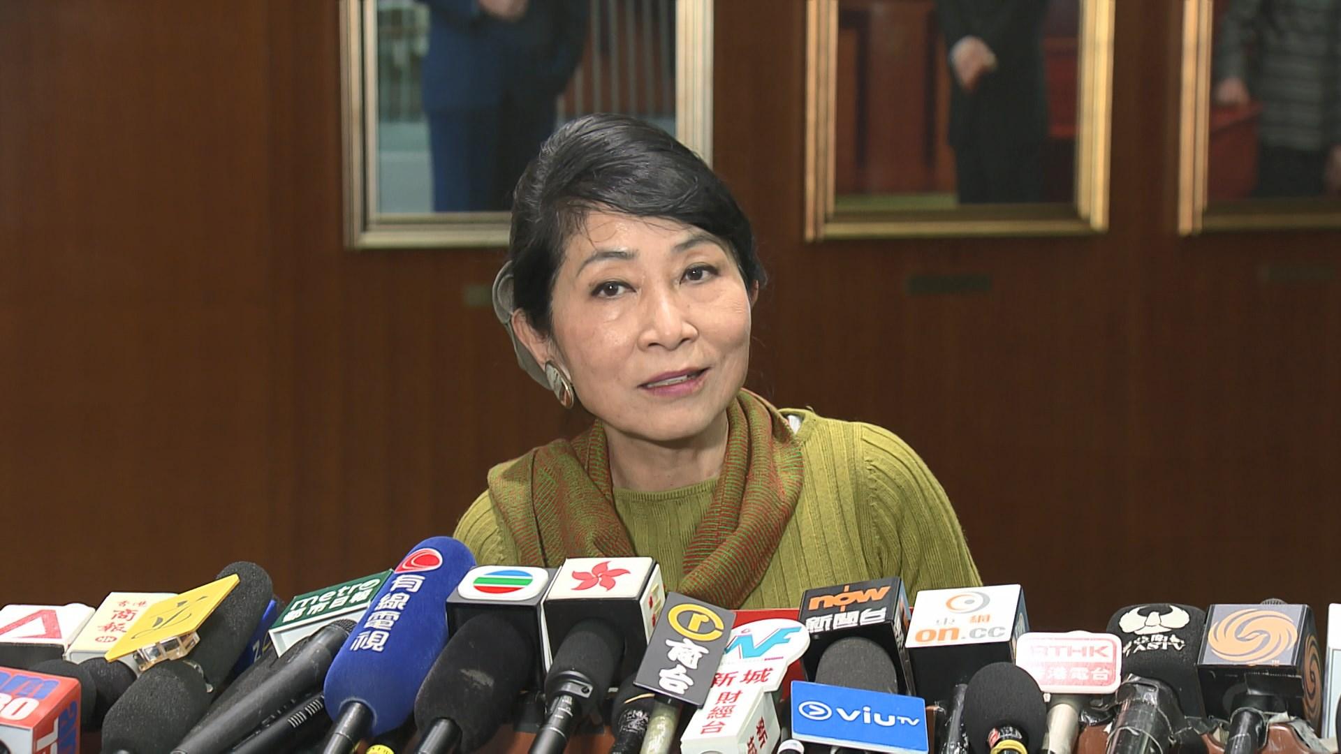 毛孟靜質疑梁君彥的裁決並無議事規則支持