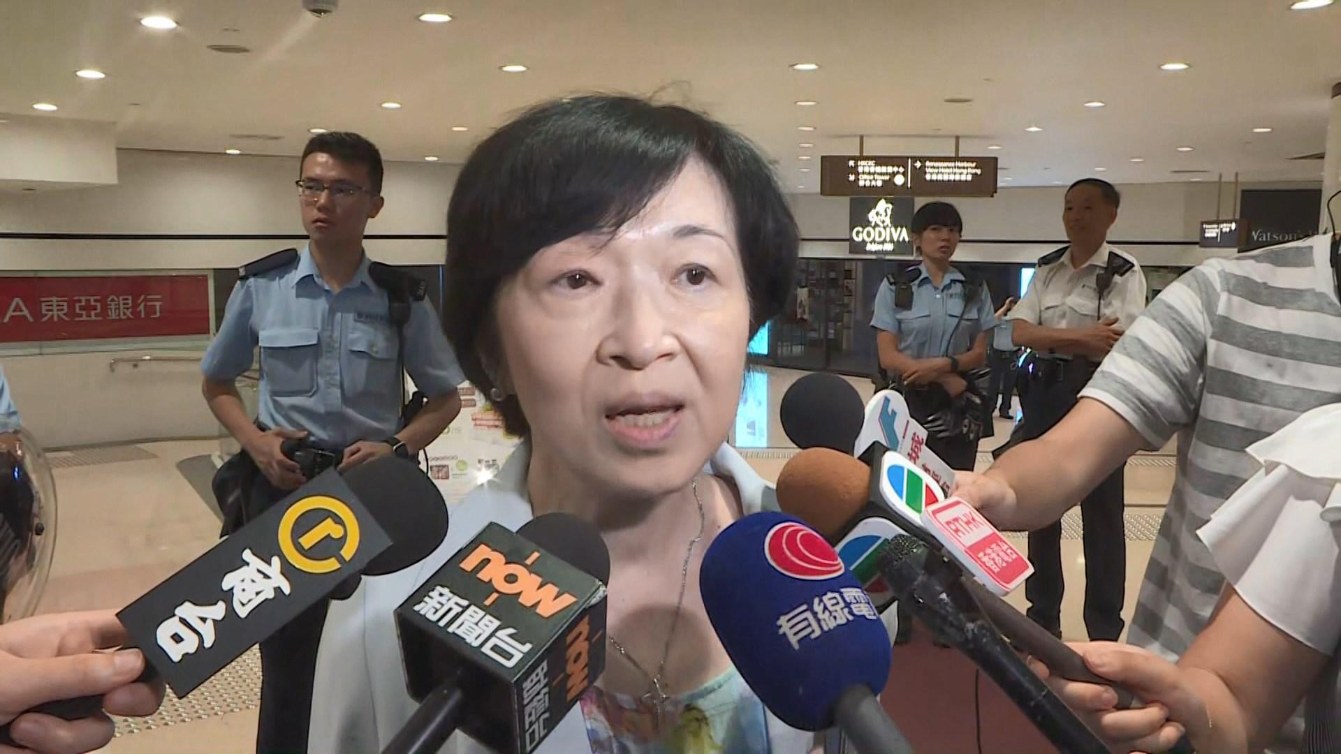 羅范椒芬冀示威者給予林鄭月娥機會