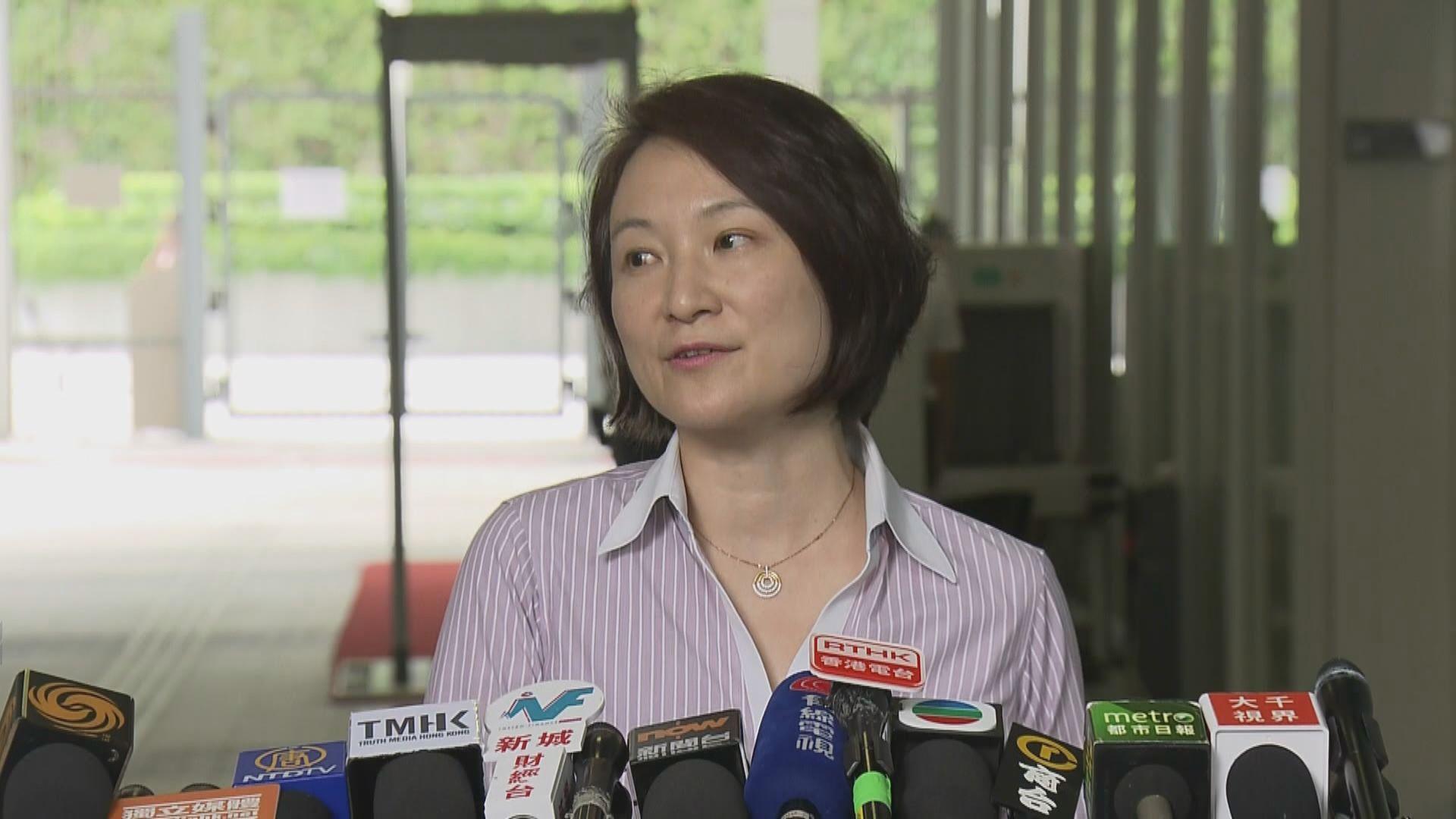 李慧琼:林鄭形容修例工作「死亡」可釋部分市民憂慮
