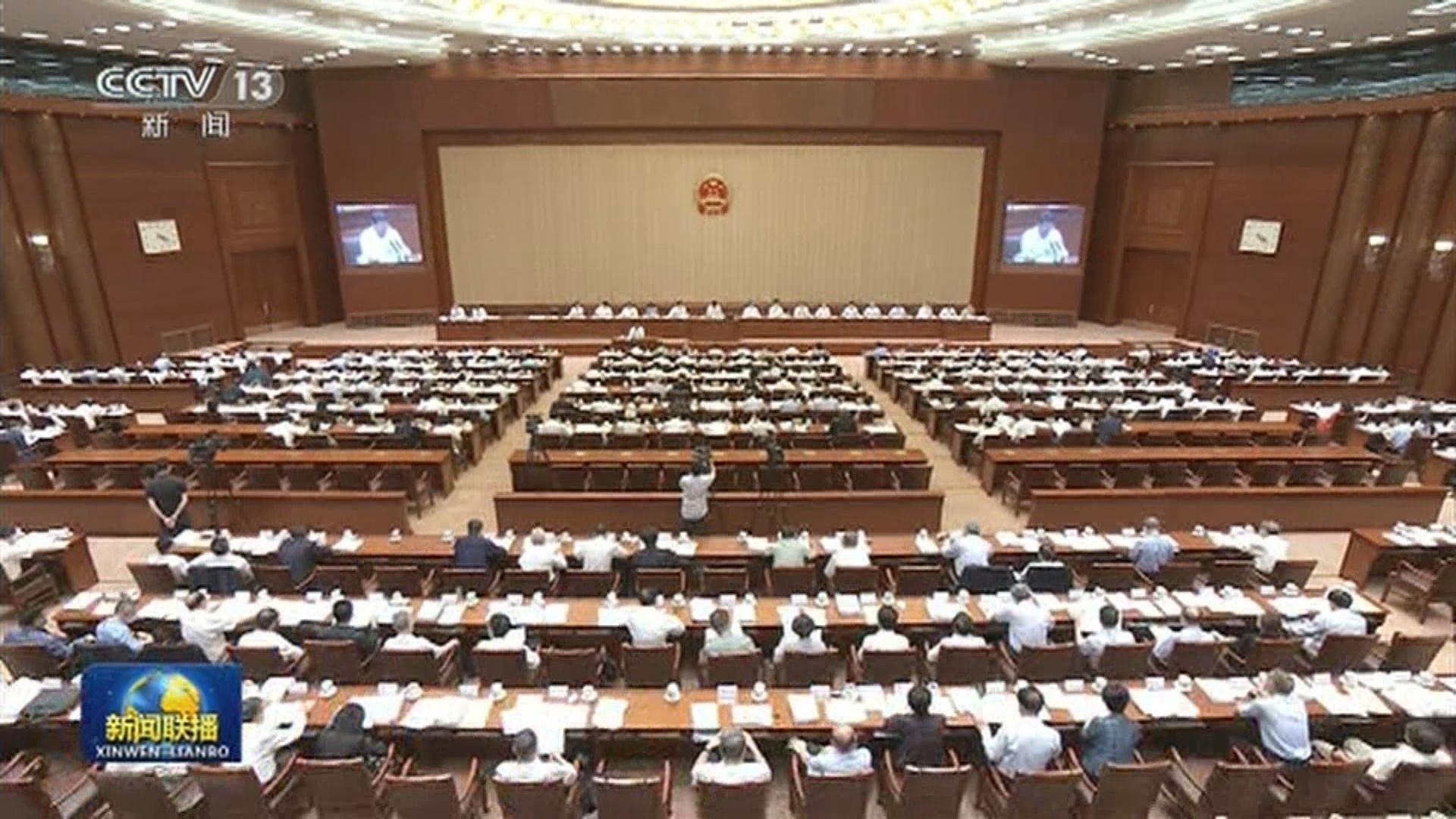 林鄭支持全國人大制訂反外國制裁法 指是「其人之道還治其人之身」