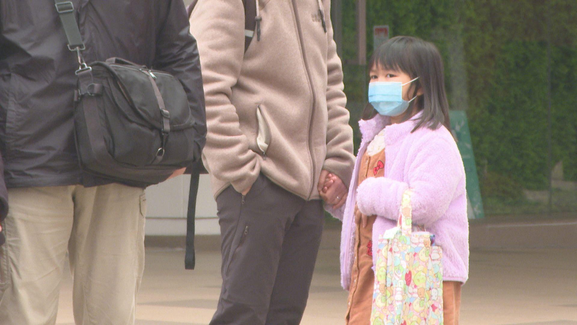 林鄭︰政府多管齊下增兒童口罩供應
