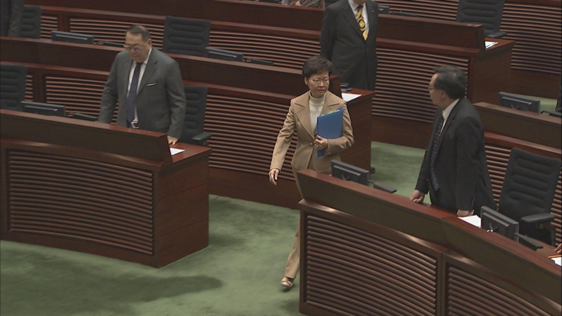 林鄭:香港深層次問題涉及一國兩制信心和政府管治