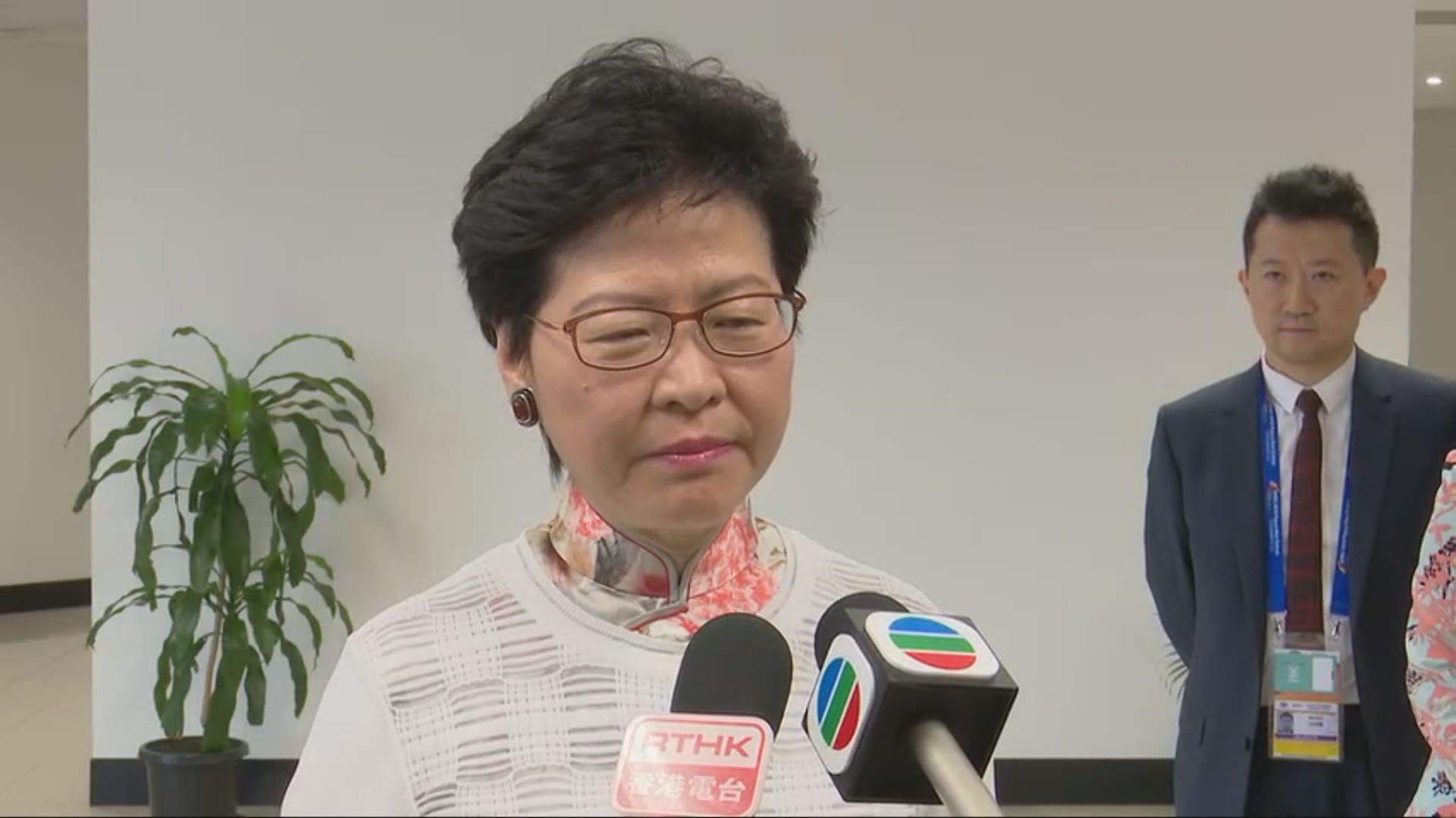 英議員擬譴責控佔中案 林鄭:反感亦反對