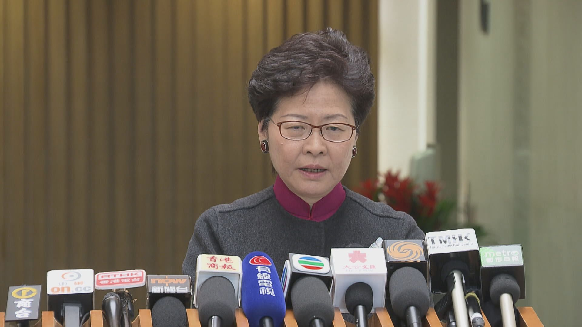 林鄭:立法會發言屬直言 日後會更有技巧