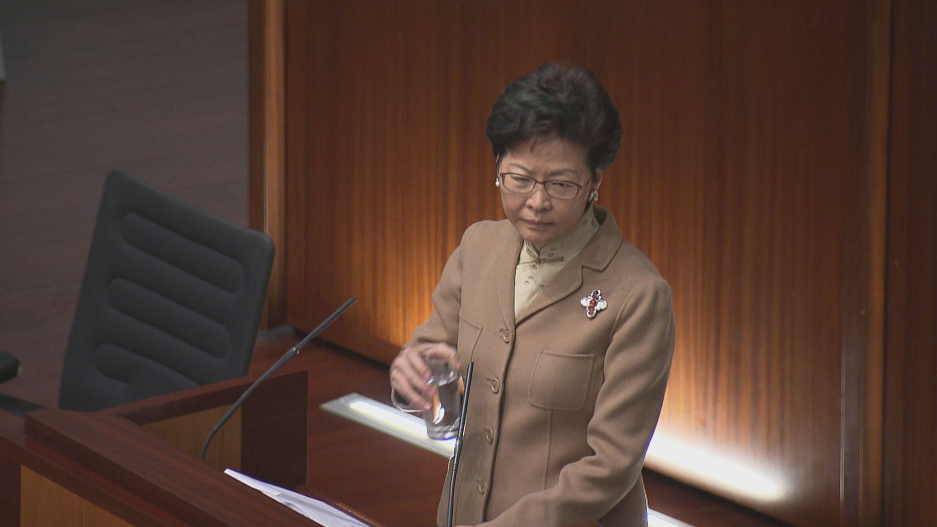 林鄭:提高申領長者綜援門檻已政策非建議