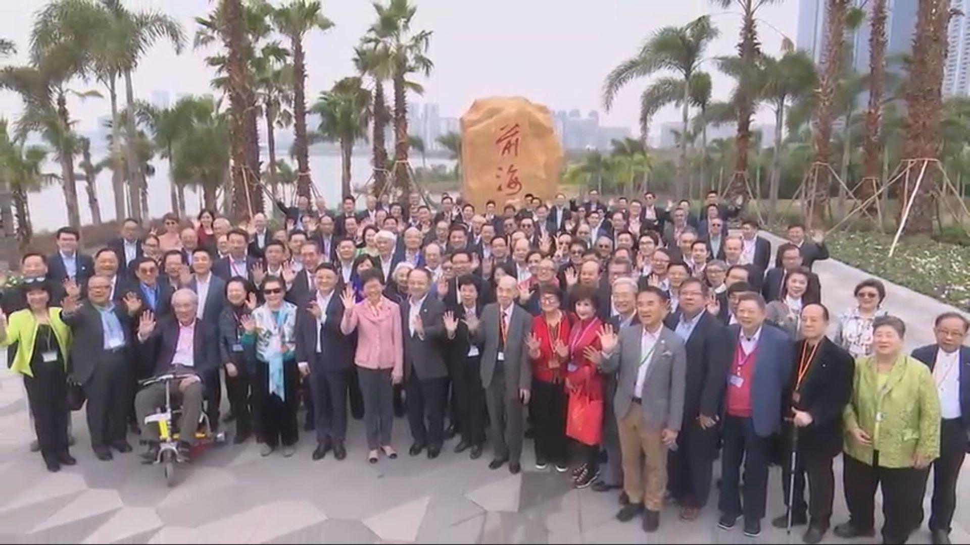 林鄭率團訪京 下周一將獲國家領導人接見