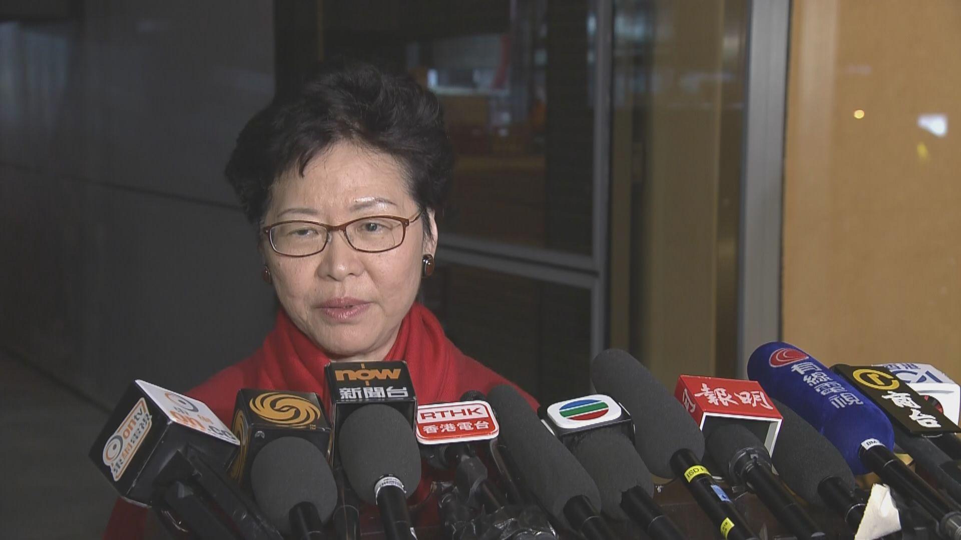 林鄭:律政司無尋求獨立法律意見是專業判斷