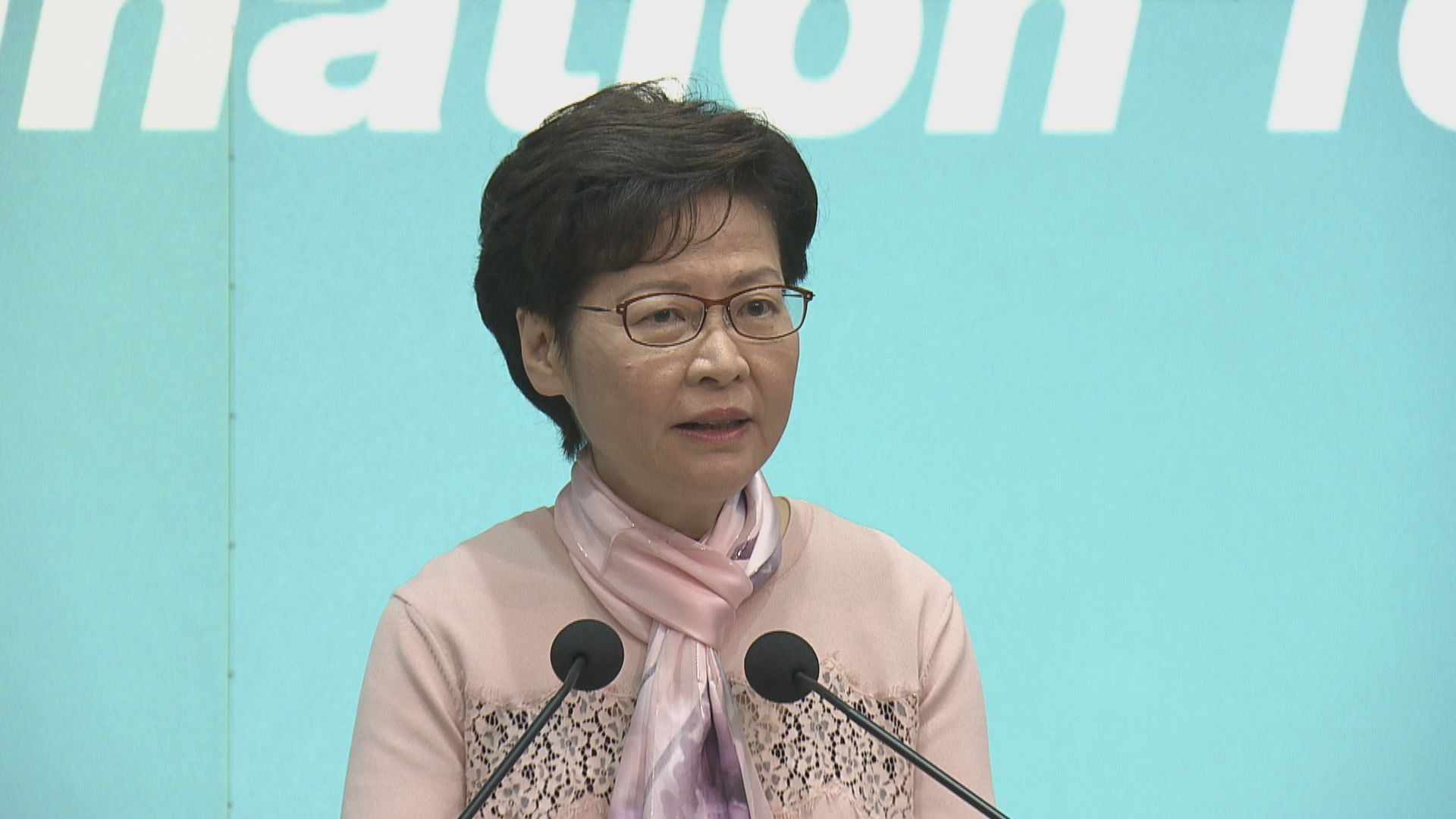 林鄭月娥:周三屆滿的社交距離措施非適當時候放寬