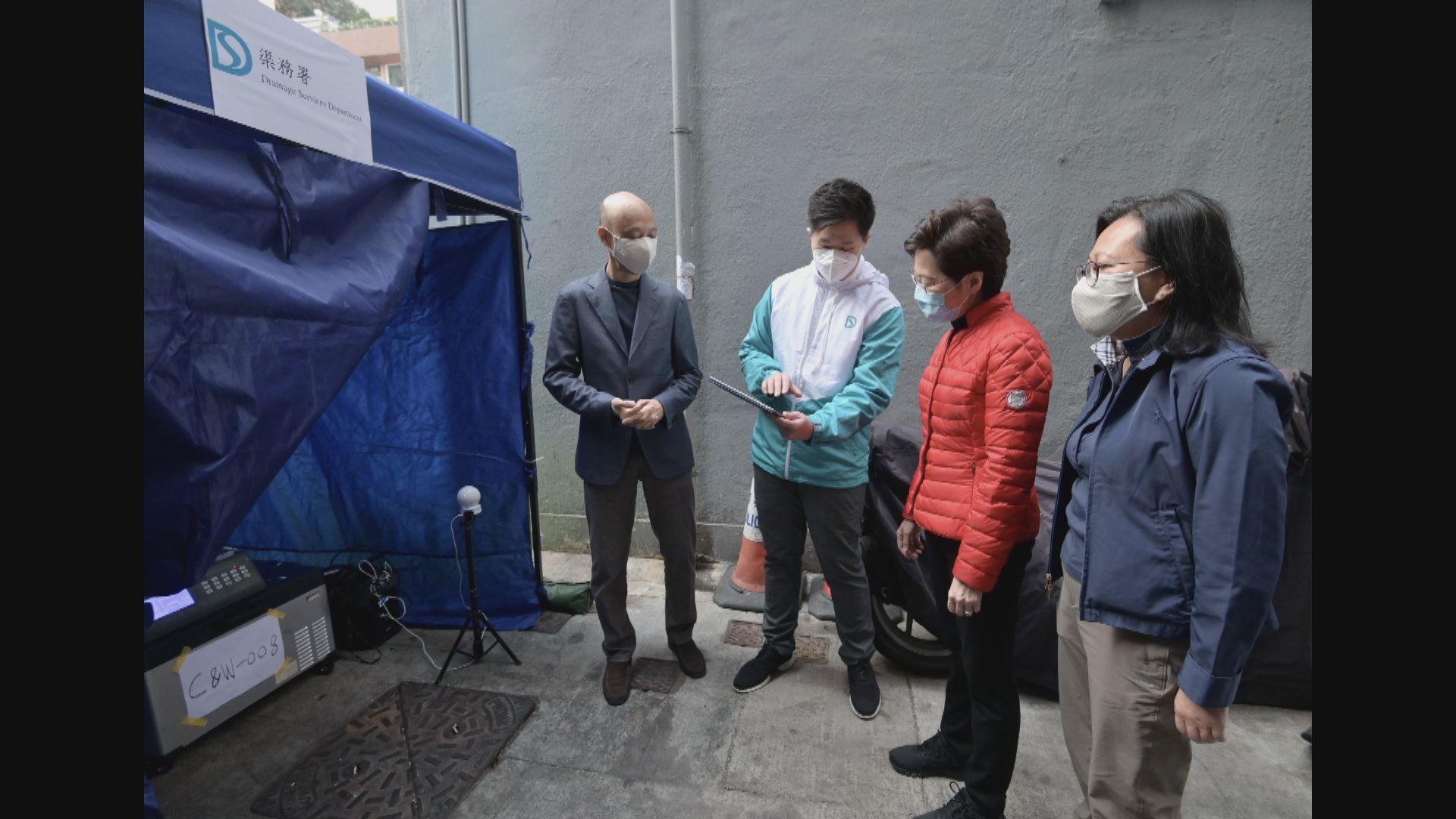 政府強檢逾110幢污水呈陽性大廈 發現逾50宗確診