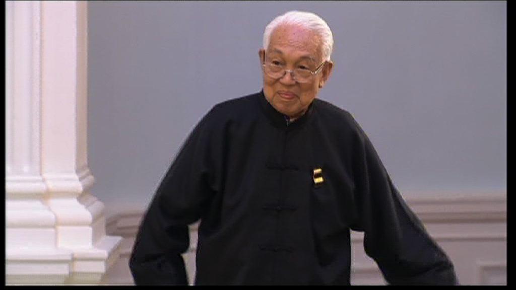 堪輿學家蔡伯勵逝世享年96歲